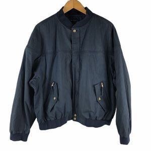 La Paz By Catalina Vintage Navy Bomber Jacket